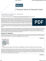 Clinical Evaluation and Treatment Options for Herniated Lumbar Discs