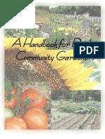 A Handbook for Dowling Community Gardeners