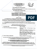 NAPOLCOM Promotional Exam April 2020 Guide
