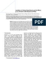 2D Numerical Simulation of Urban Dam Break and Its Effect to Building using Lax Scheme with Numerical Filter.pdf