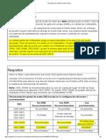 Requisitos de aceite del motor diesel