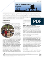 Benefits of Gardening for Children - PeaceWorks