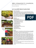 Building Wheelchair Accessible Raised Garden Beds - DOWLING COMMUNITY GARDEN