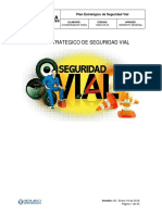 PLAN ESTRATEGICO DE SEGURIDAD VIAL