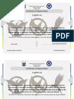 Certificate Mini Par OB