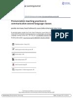 Pronunciation teaching practices in communicative second language classes_Foote_Trofimovich_Collins_Soler_2016 (4)