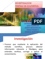 1.2 Investigación cualitativa vs cuantitativa