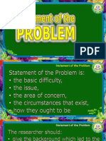 08 Statement of the Problem