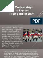 10 Ways to Express Nationalism