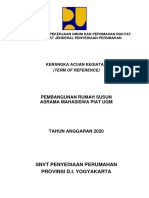 REV2KAK Rusun Asrama Mahasiswa PIAT UGM Yogyakarta 2020