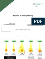 Adaptive radiotherapy