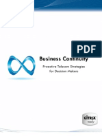 Elfiq White Paper - Business Continuity