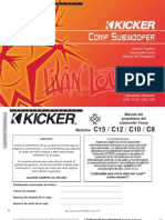 Manual de subwoofer kicker comp 2 c8