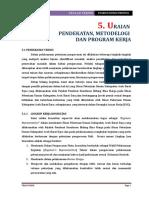 5. Uraian Pendekatan, Metodelogi dan Program Kerja