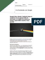 Modulo 12_GooglePlusChiude