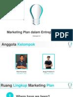 Marketing Plan dalam Entreprenership 2.0.0.0