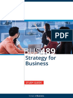 BUS489 Strategy for Business