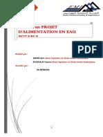 projet AEP anoiri +bousalem