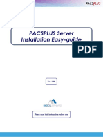 PACS Installation Easy-guide_ENG