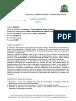 Processos e concepções em saúde e doença