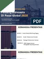 Peluang Indonesia di Pasar Global 2020