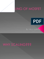 SCALING OF MOSFET.pptx