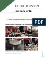 LA PAGE DU HERISSON DE JADE Hors-série n°12.