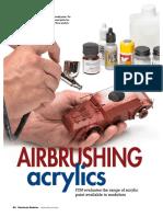 Airbrushing Acrylics
