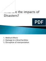 Characteristics of Disasters