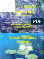 Tehnici de lucru cu textul liric