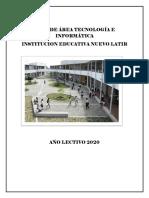 PLAN DE AREA TECNOLOGIA E INFORMATICA 2020