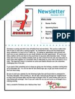 Red9Runners December 2010 Newsletter