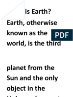 What is Earth_VISUAL