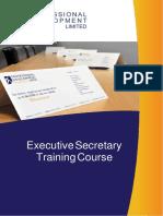 Executive-Secretary-PA-Training-Course