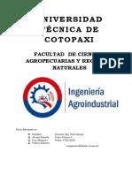 ANALISIS FISICOS-QUIMICOS DE PRODUCTOS ACUICOLAS
