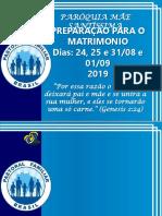 SLIDE MÚSICAS PREPARAÇÃO PARA O MATRIMÔNIO 2019