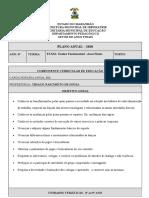 EDUCAÇÃO FÍSICA - PLANO do 6º 2020