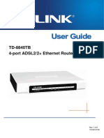 TD-8840TB User Guide