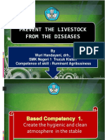 Prevent the livestock from the dideases