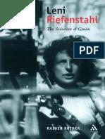 (Propaganda Studies in Modern Political Communication) Rainer Rother-Leni Riefenstahl_ The Seduction of Genius-Continuum (2002)