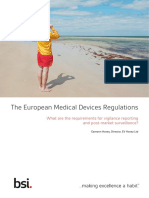 The European Medical Devices Regulations