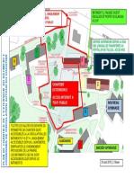 Plan de circulation - Chantier extension E-180830