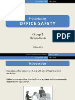 Presentation Office Safety