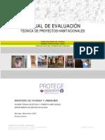 33705772 Manual de Evaluacion Tecnica de Proyectos Habitacionales (1)