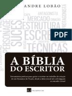 A Bíblia do Escritor - Alexandre Lobão