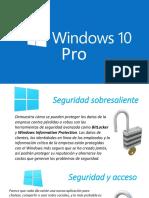 Presentación Windows 10 Pro
