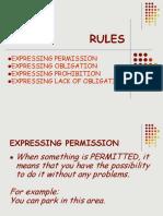 RULES - INTERMEDIATE