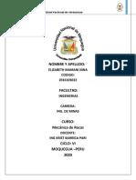 TIPOS DE ROCAS EN EL PERU