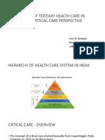 FUTURE OF TERTIARY HEALTH CARE IN INDIA