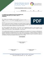 CARTA DE AFILIACIÓN DEL SOCIO A LA CAJA